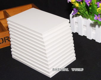 15cmX10cmX0.8cm white Color Rubber Carving Blocks, Rubber Brick, Rubber Stamps ,Block Printing for Scrapbooking Postcards