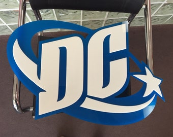 DC New 52 Wall Sign