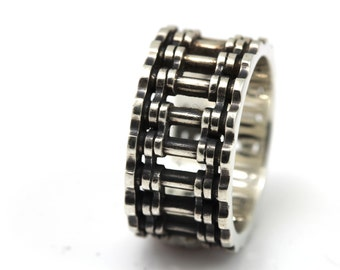 chain ring,925 Sterling Silver