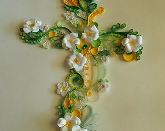 Quilled cross 2
