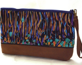 WHIMSY AND LEATHER/Wristlet