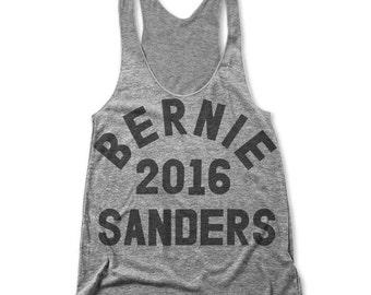 Bernie Sanders 2016 (Women Racerback Tank)