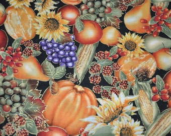 1/2 yard of Fall Harvest 100% Cotton Quilt Fabric