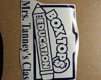 Box tops label to go on your container!!!