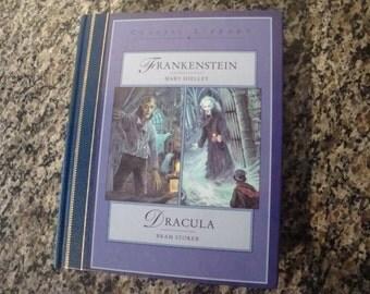 Frankenstein/Dracula Hardcover Book