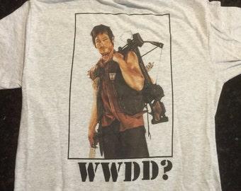 WWDD Walking Dead Shirt Daryl Dixon T-Shirt