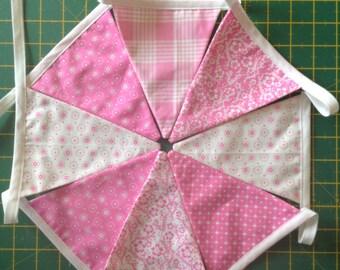 Pink Girly Bunting
