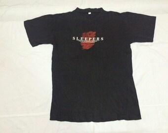 vintage sleepers movie PolyGram film production brad pitt t shirt