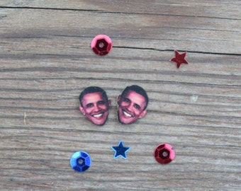 Barack Obama POTUS Earrings