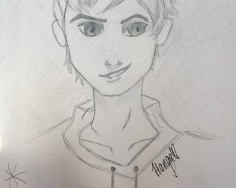 Original Jack Frost Drawing