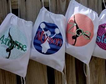 Gymnastic Drawstring Bag - Personalized