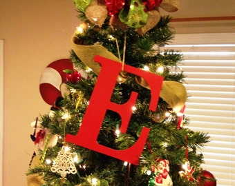 Tree Topper Initial