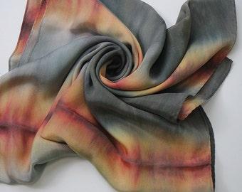 Handmade Silk Scarf_Ganges
