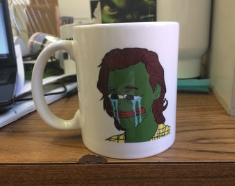 Pepe as Harry Styles Mug