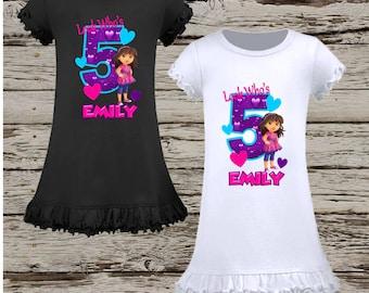 Dora Birthday Dress - Dora and Friends Birthday Dress