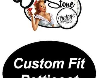 ON SALE Elizabeth Stone 50's Underskirt Petticoat