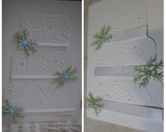 Wedding  card/cake, beach theme