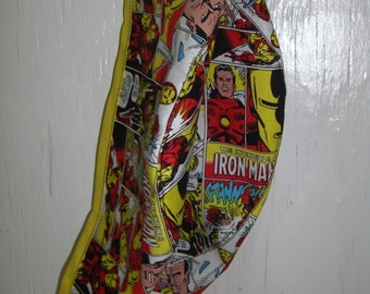 COMIC BOOK HERO Surgeon Cap/Surgical Hat/ Iron Man