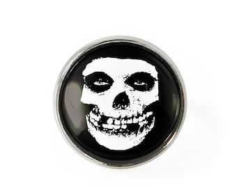 Silver Danzig Skull Ring