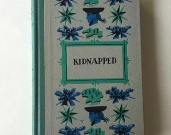 Vintage Hardback Book Kidnapped
