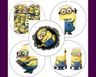 """Minions Sticker Set """"New"""""""