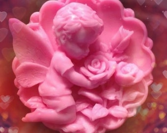 Cupid And Rose Soap