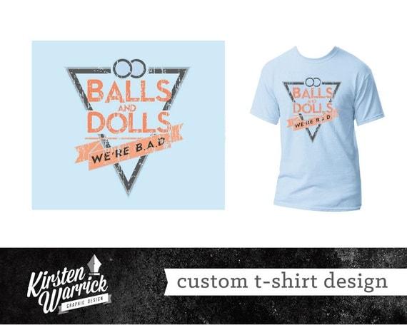 T shirt design personalized custom graphic design service for Custom design services