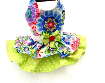 Small Chihuahua Dress Small dog clothes puppy first dress Dog outfit Coat