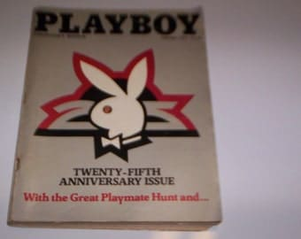 Playboy 25th Anniversary Issue  January 1979