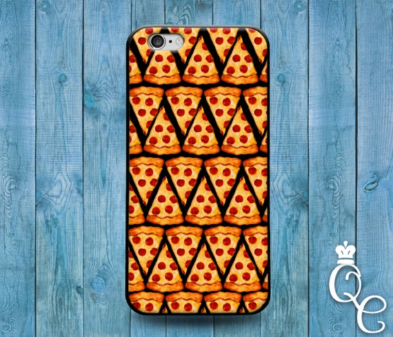 iPhone 4 4s 5 5s 5c SE 6 6s 7 plus iPod Touch 4th 5th 6th Generation Cover Funny 1 Custom Pizza Slice Phone Case Cute Food Foodie Fun Cool