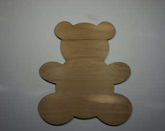 Teddy Bear silhouette cutout