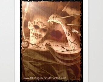"""Original Art Print """"Delicate Experiments"""""""