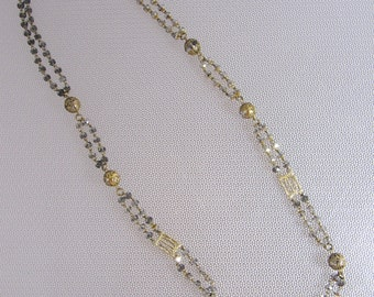 Vintage necklace from the 50s rockabilly era - necklace original from the fifties