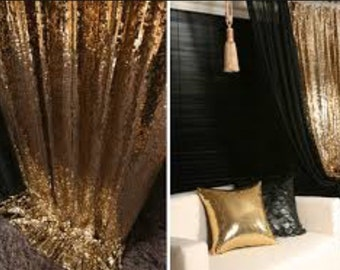 CHOOSE YOUR SIZE! Sequin Curtain, Drape for your Wedding and Events! Home decor.Background, backdrop for photo booth.Metallic