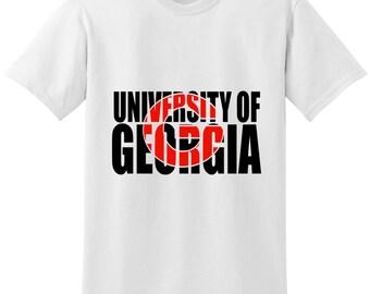 University of Georgia Shirt, University of Georgia Fan Shirt, UGA Shirt, University of Georgia, UGA, UGA Dawgs, University of Georgia Dawgs