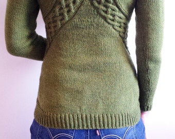 Cable Wrap Sweater