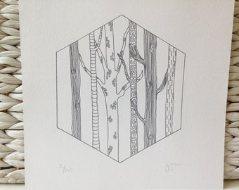Limited Edition Print - Trees