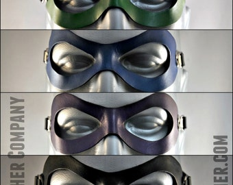 Leather Domino Mask