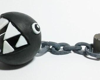 Chain Chomp Figure - Super Mario