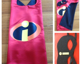 Mr Incredible Cape & Mask Set