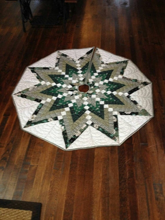 Free Christmas Tree Skirt Pattern