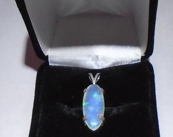 Australian Opal Pendant. Stock # H-005.