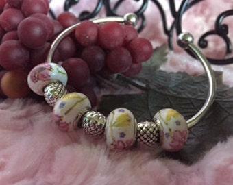 925 Sterlng Silver Cuff Bracelet