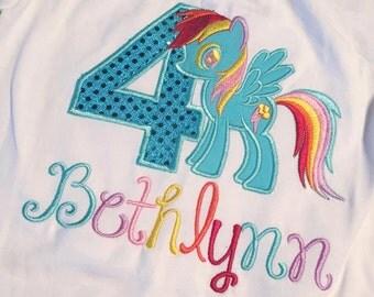 My Little Pony Birthday T Shirt