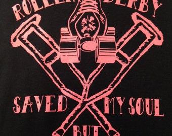 Roller Derby Saved My Soul....but Broke My leg