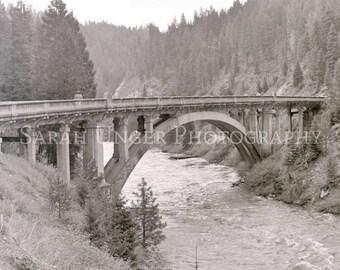 Photograph of Rainbow Bridge near Cascade Idaho