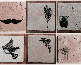 Stone Tile Coasters