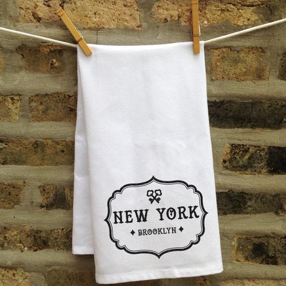 Tea Towels Unique: State Gifts Monogrammed Kitchen Towel Custom Kitchen Towel