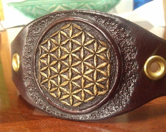 Flower of Life Sacred Geometry Bracelet