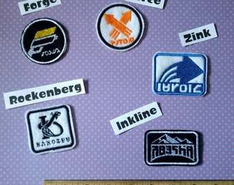 Splatoon Iron-on Patches Pick-a-Patch